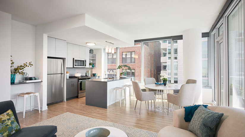 SPACIOUS FLOOR PLANS WITH DESIGNER FINISHES